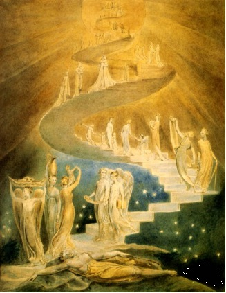 William Blake - Jacob's dream