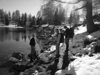 Al lago Bordaglia