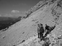 Camminata sui monti